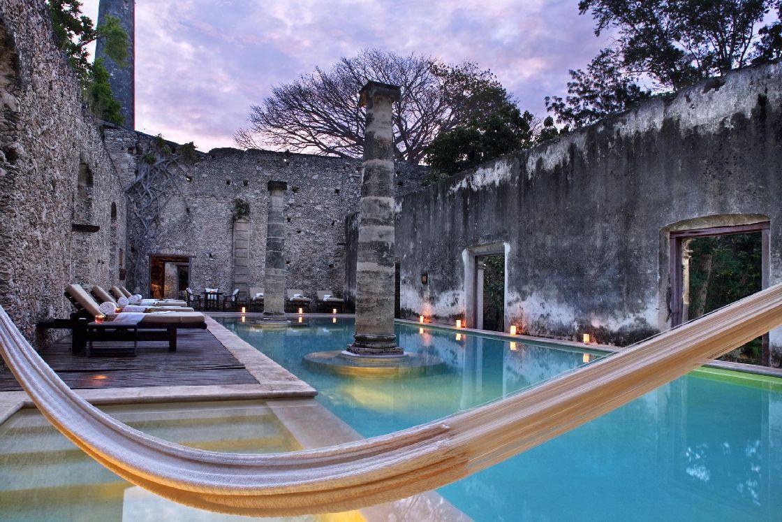 Hotel Hacienda Uayamón, Campeche, México